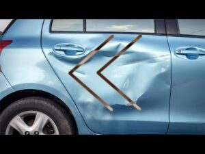 does car insurance cover dents and scratches