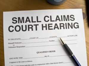 how to sue an insurance company in small claims court