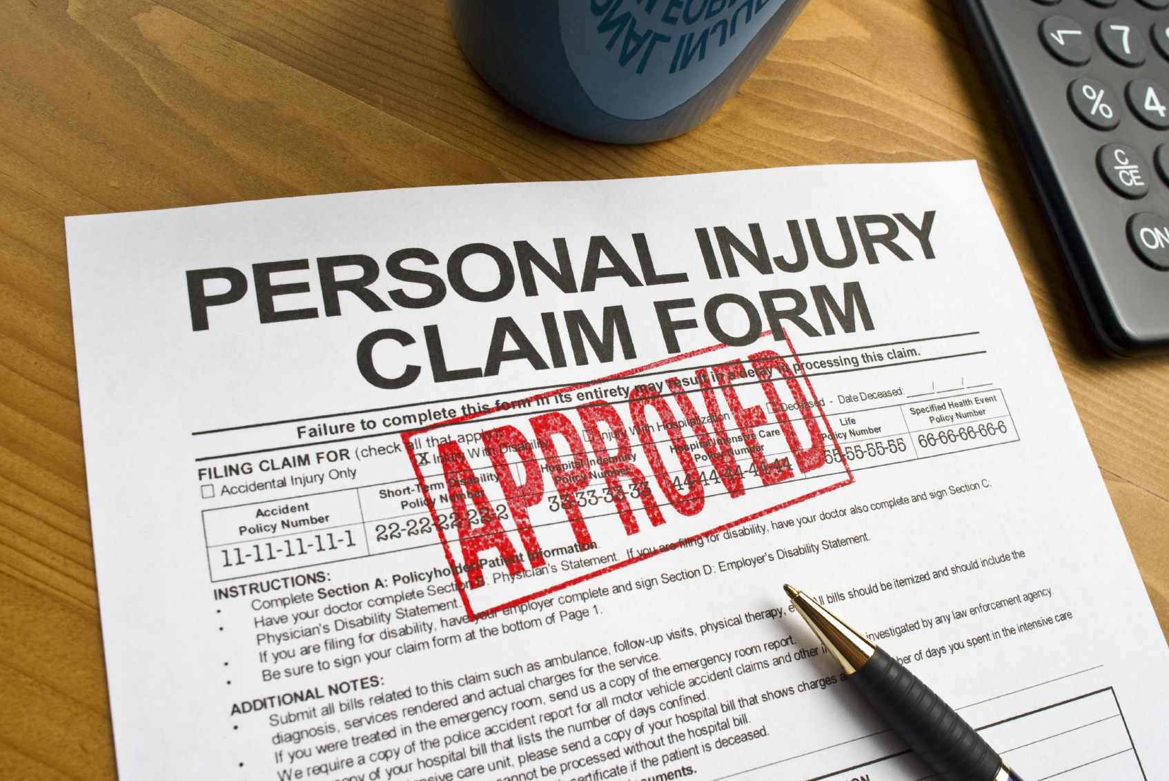 Settling A Personal Injury Claim With An Insurance Company