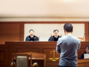 what are the six steps in a civil case