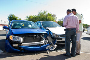 who is responsible for rental car in an accident