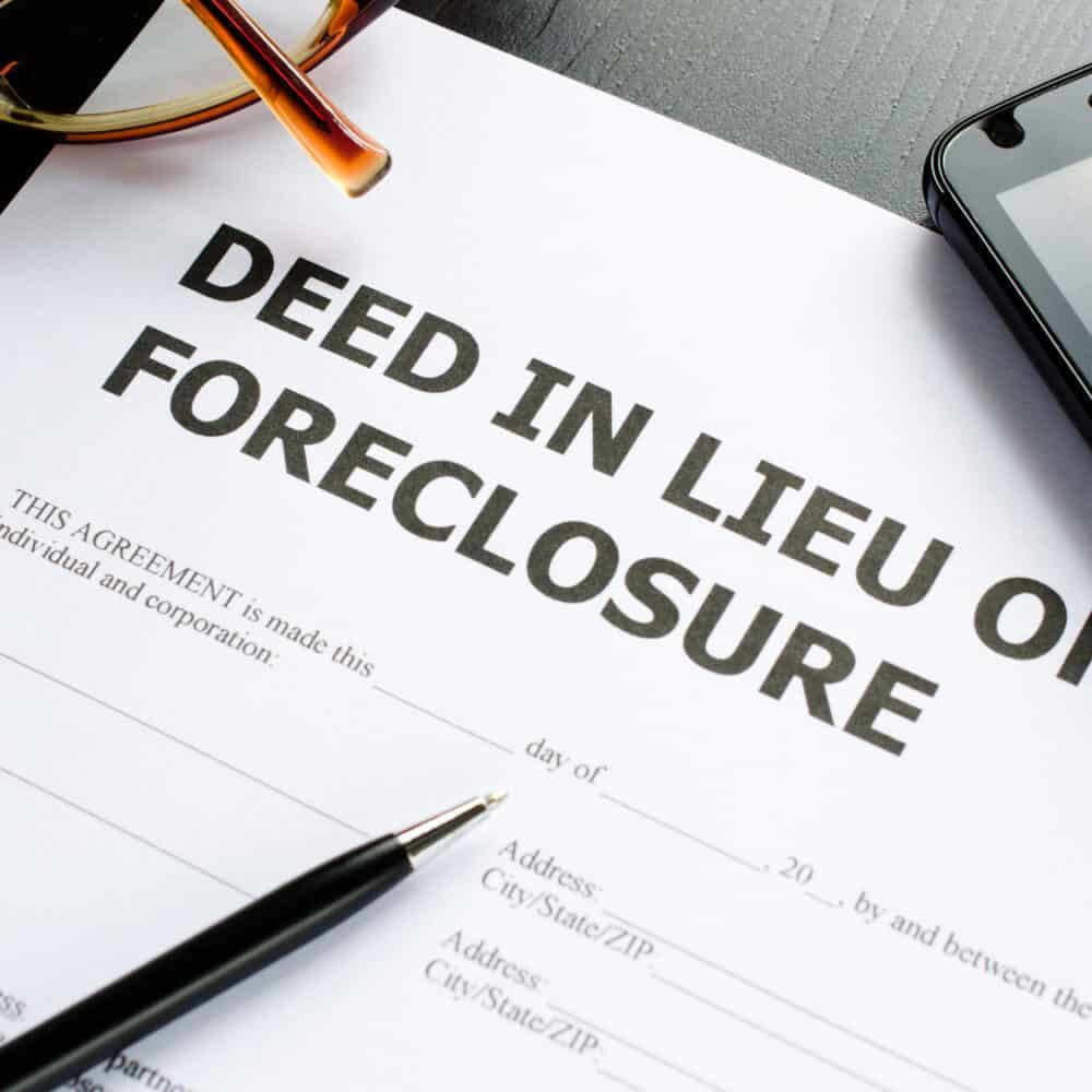 How To Recover From A Deed In Lieu Of Foreclosure