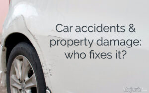 car accident property damage settlement