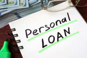 personal loan for down payment on house