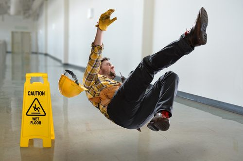 Slip And Fall At Work Settlement