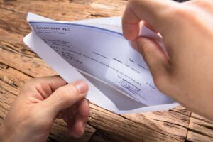 how to cash a workers comp check